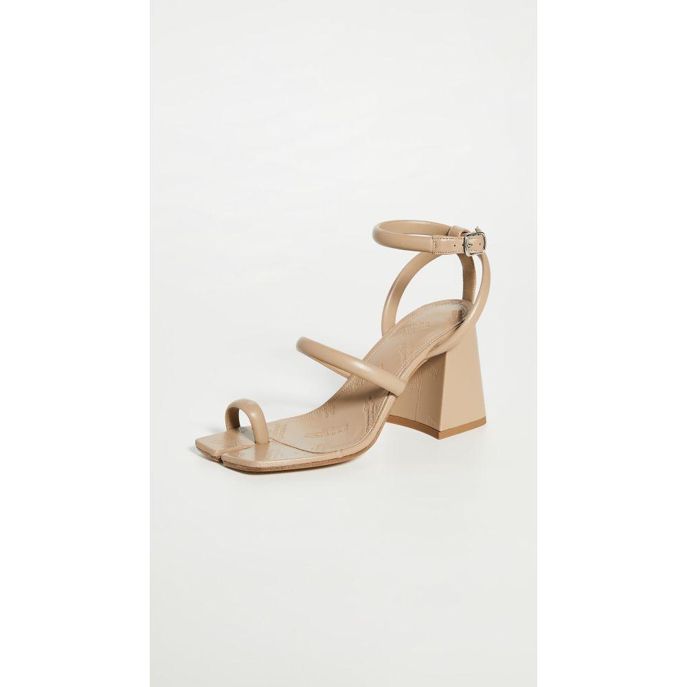 メゾン マルジェラ Maison Margiela レディース サンダル・ミュール アンクルストラップ チャンキーヒール シューズ・靴【Chunky High Heeled Ankle Strap Sandals】Nude