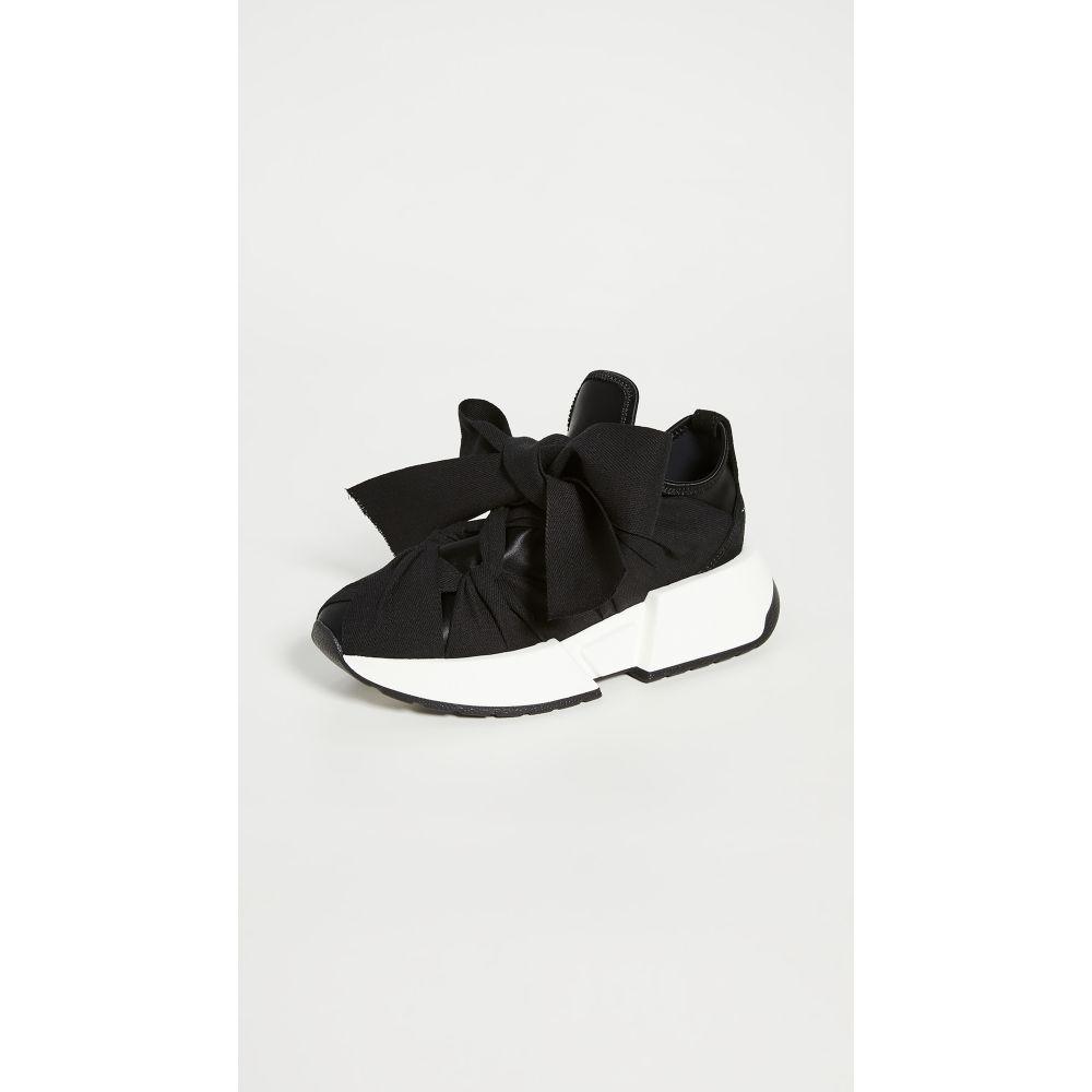 メゾン マルジェラ MM6 Maison Margiela レディース スニーカー シューズ・靴【Ribbon Tied Sneakers】Black