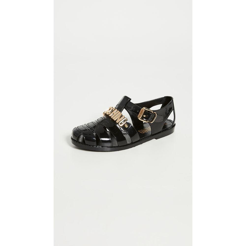 モスキーノ Moschino レディース サンダル・ミュール シューズ・靴【Buckle W Sandals】Black
