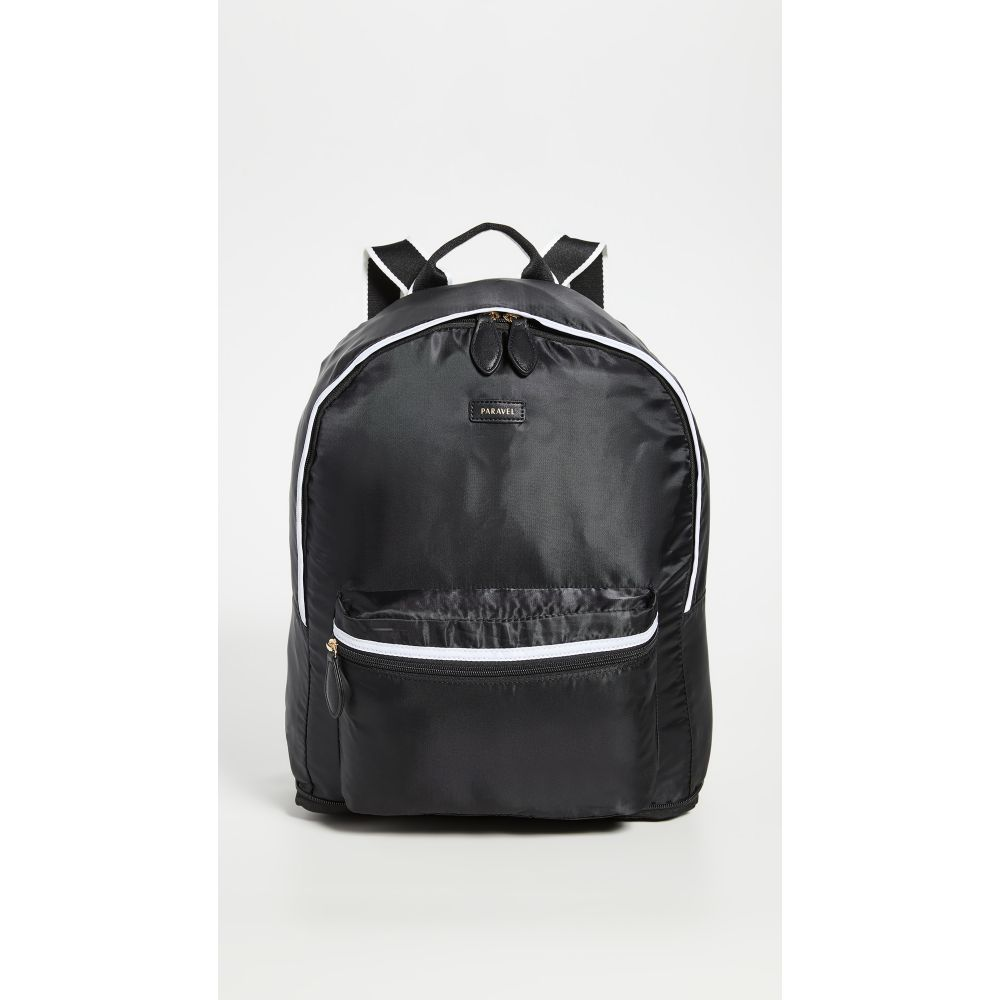パラベル Paravel レディース バックパック・リュック バッグ【Fold Up Backpack】Derby Black