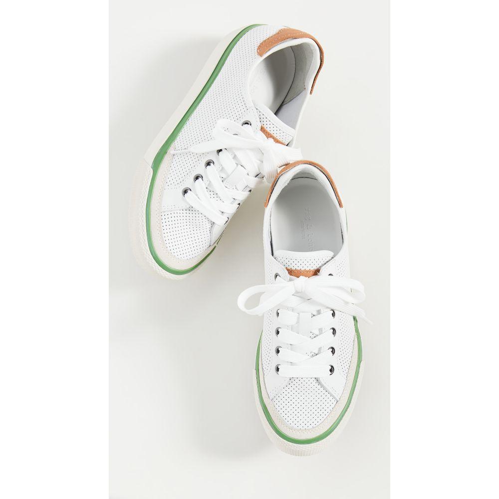 ラグ&ボーン Rag & Bone レディース スニーカー シューズ・靴【Army Low Sneakers】Brightwhtp