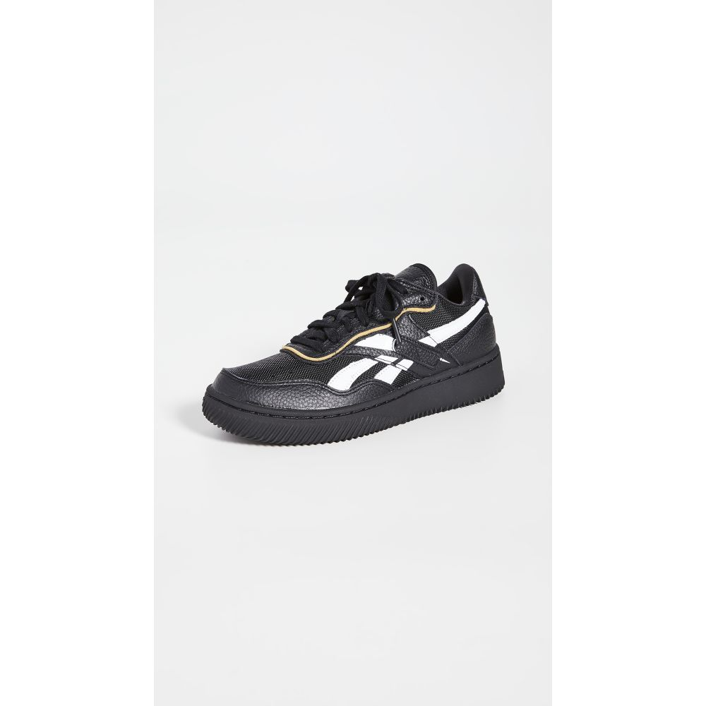 リーボック Reebok x Victoria Beckham レディース スニーカー シューズ・靴【Dual Court II VB Sneakers】Black-White