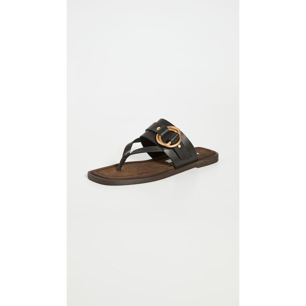 ステラ マッカートニー Stella McCartney レディース サンダル・ミュール シューズ・靴【Thong Sandals】Black