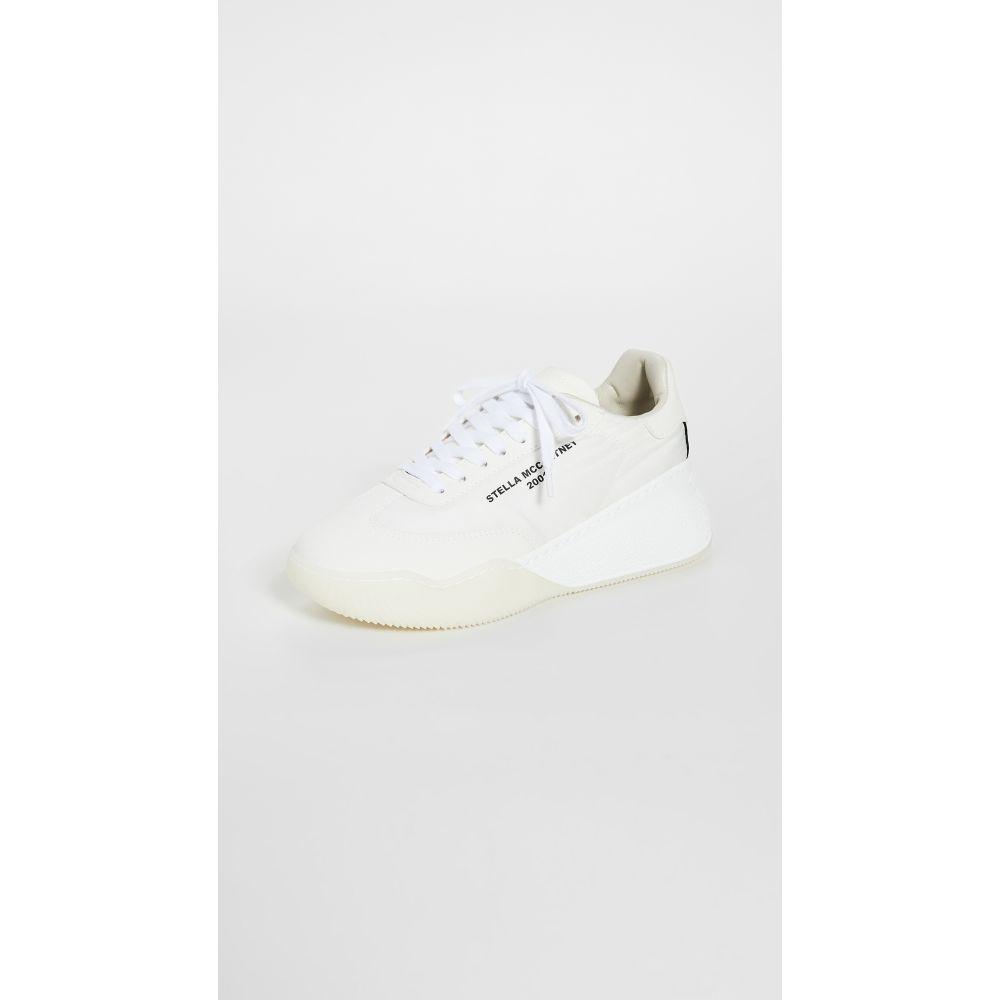 ステラ マッカートニー Stella McCartney レディース スニーカー シューズ・靴【Runner Loop Sneakers】White/Black