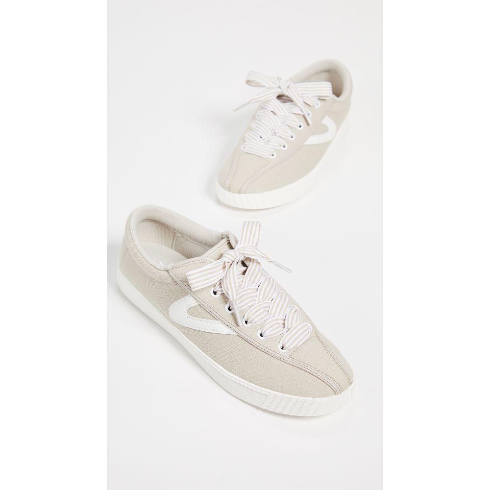 トレトン Tretorn レディース スニーカー シューズ・靴【Nylite 28 Plus Sneakers】Stone/Vintage White