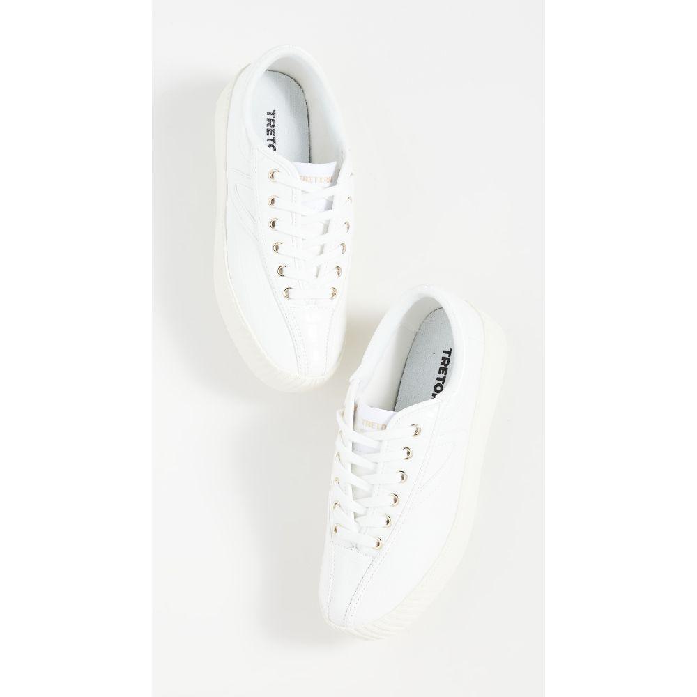 トレトン Tretorn レディース スニーカー シューズ・靴【Nylite 13 Bold Sneakers】White