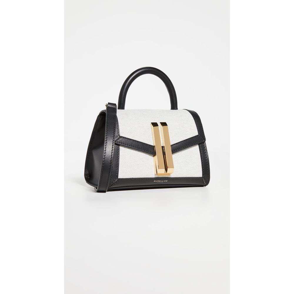デメリエー DeMellier レディース ショルダーバッグ バッグ【Montreal Mini Crossbody Bag】Black/Grey Melange