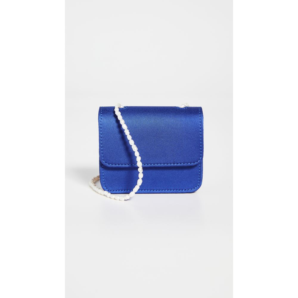 ゲラーレ ミズラヒ Gelareh Mizrahi レディース ショルダーバッグ バッグ【Satin Micro Mini Pearl】Blue