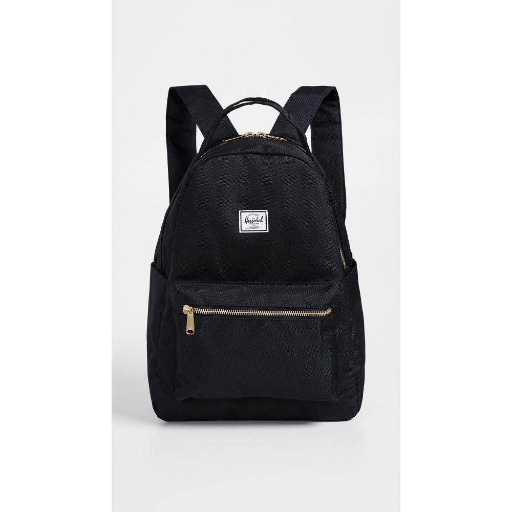 ハーシェル サプライ Herschel Supply Co. レディース バックパック・リュック バッグ【Nova Mid Volume Backpack】Black