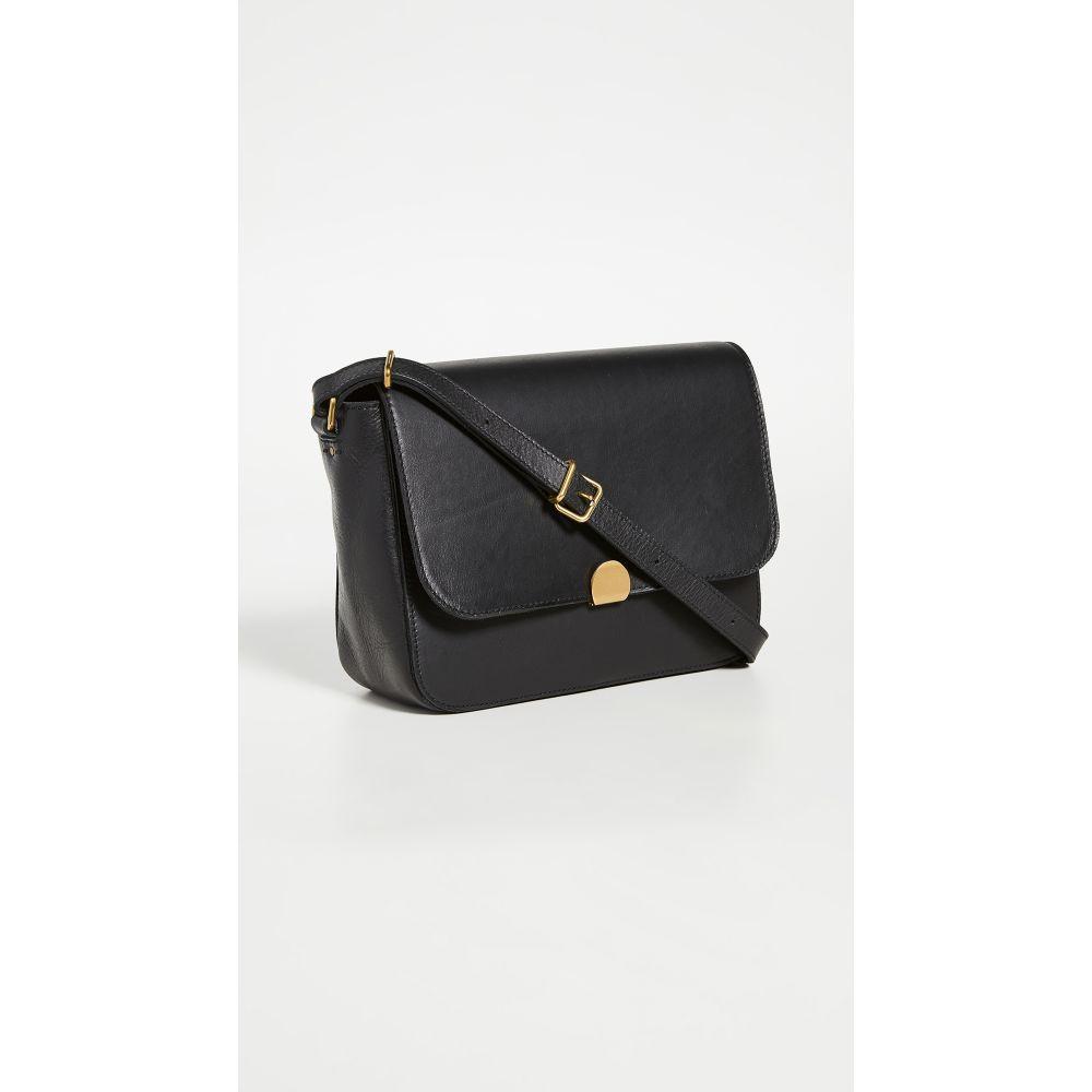 メイドウェル Madewell レディース ショルダーバッグ バッグ【Abroad Shoulder Bag】True Black