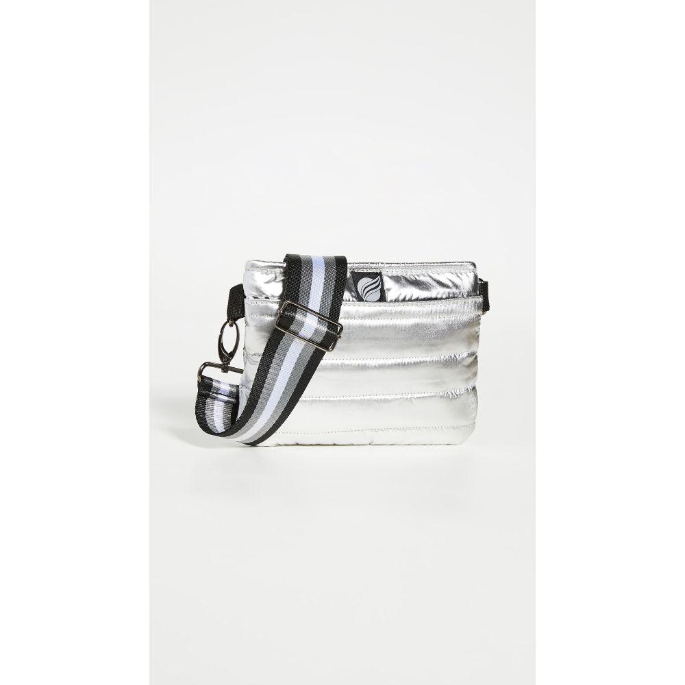 シンクロリン Think Royln レディース ボディバッグ・ウエストポーチ バッグ【Convertible Belt Crossbody Bag】New Silver Foil