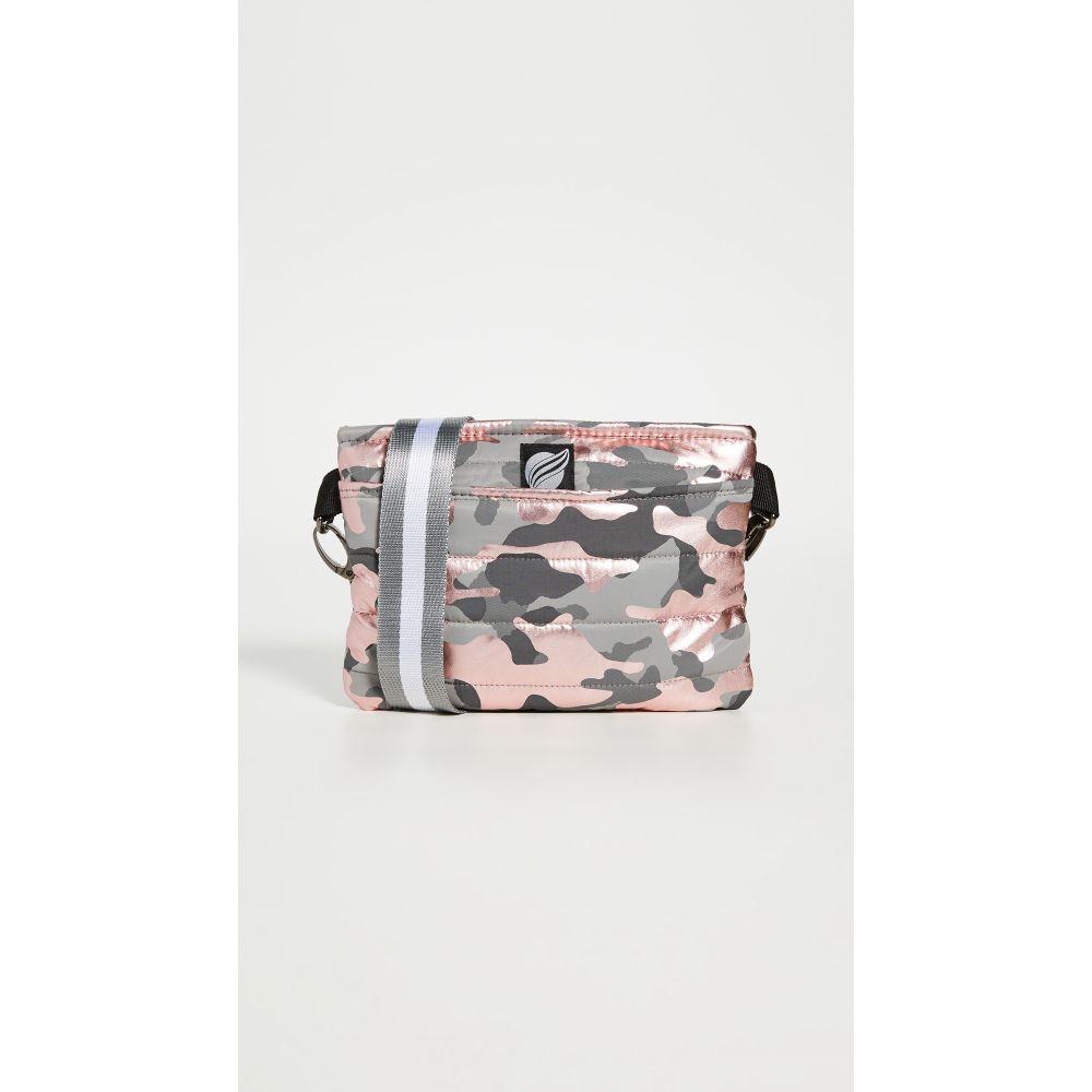 シンクロリン Think Royln レディース ボディバッグ・ウエストポーチ バッグ【Convertible Belt Crossbody Bag】Shiny Camo Pink