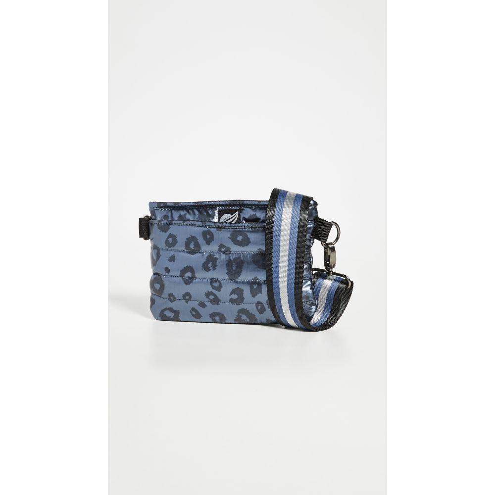 シンクロリン Think Royln レディース ボディバッグ・ウエストポーチ バッグ【Convertible Belt Crossbody Bag】Shiny Leopard Blue Concrete