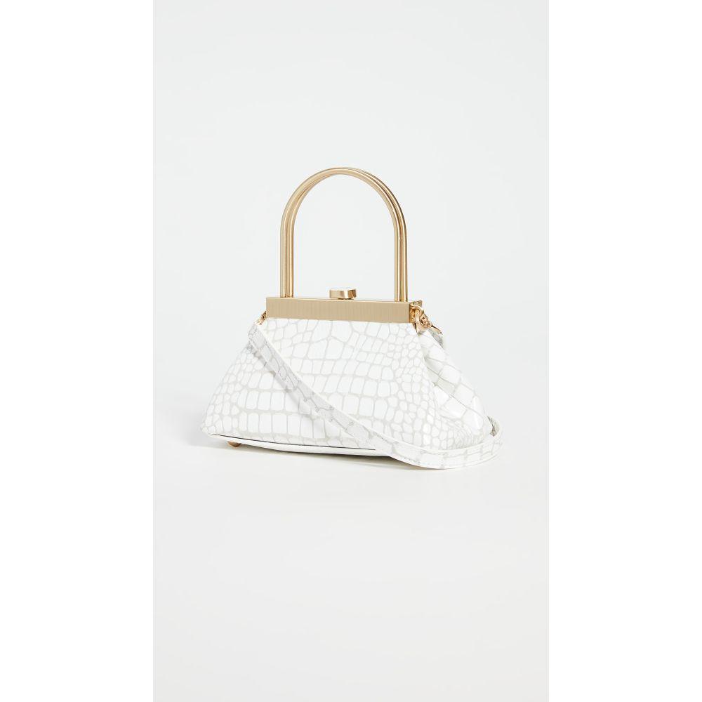 カルト ガイア Cult Gaia レディース ショルダーバッグ バッグ【Mini Estelle Crossbody Bag】White