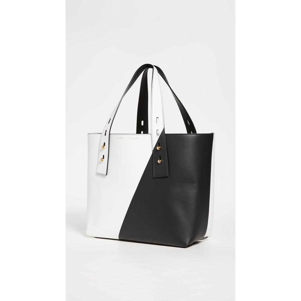 フレーム FRAME レディース トートバッグ バッグ【Les Second Medium Tote Bag】Blanc Multi