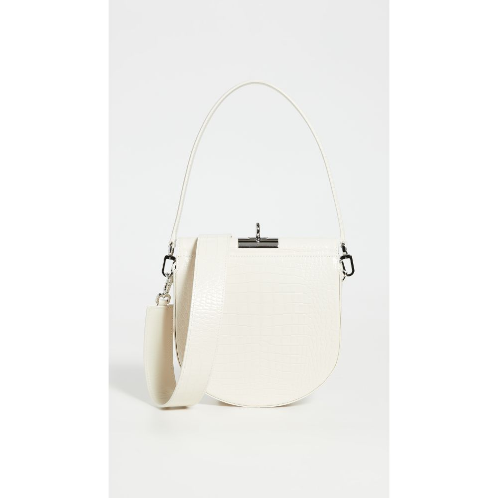 Gu_de レディース ショルダーバッグ バッグ【Demilune Bag】Ivory