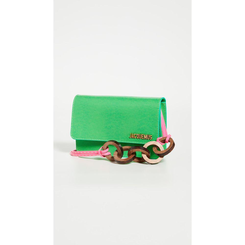 ジャックムス Jacquemus レディース ショルダーバッグ バッグ【Le Riviera Bag】Green