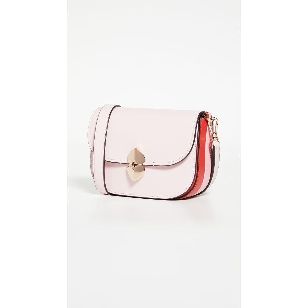 ケイト スペード Kate Spade New York レディース ショルダーバッグ バッグ【Lula Small Saddle Bag】Tutu Pink