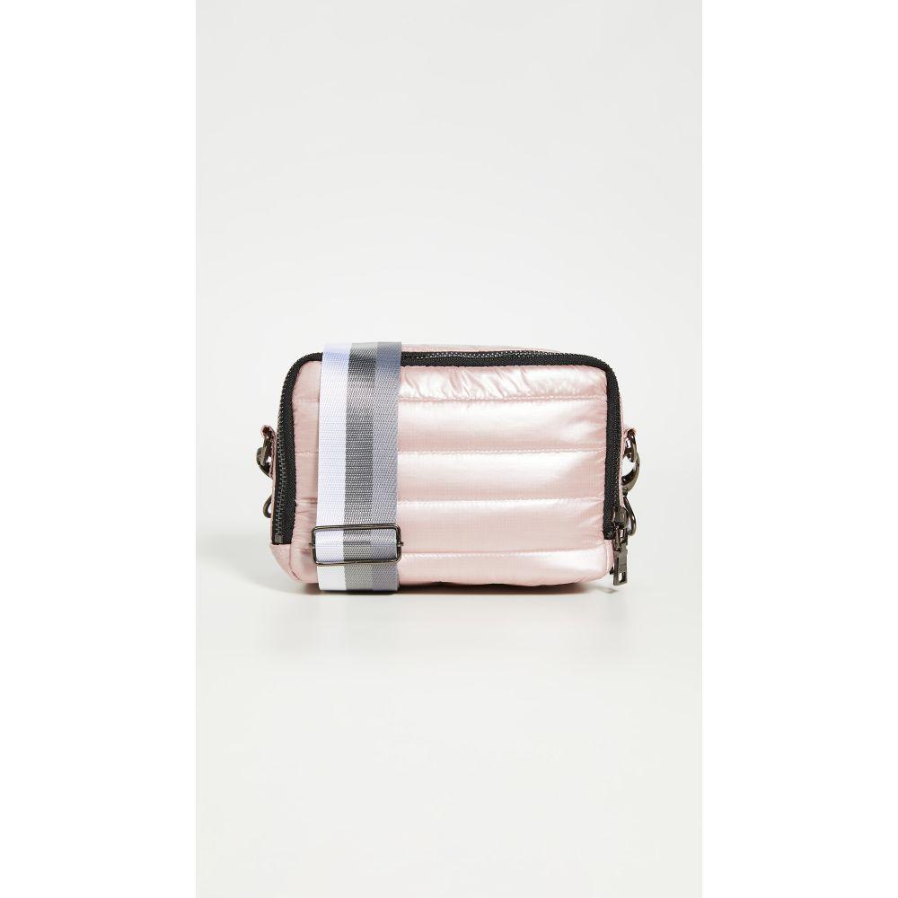 シンクロリン Think Royln レディース ショルダーバッグ バッグ【Double Zip Crossbody Bag】Pearl Blush