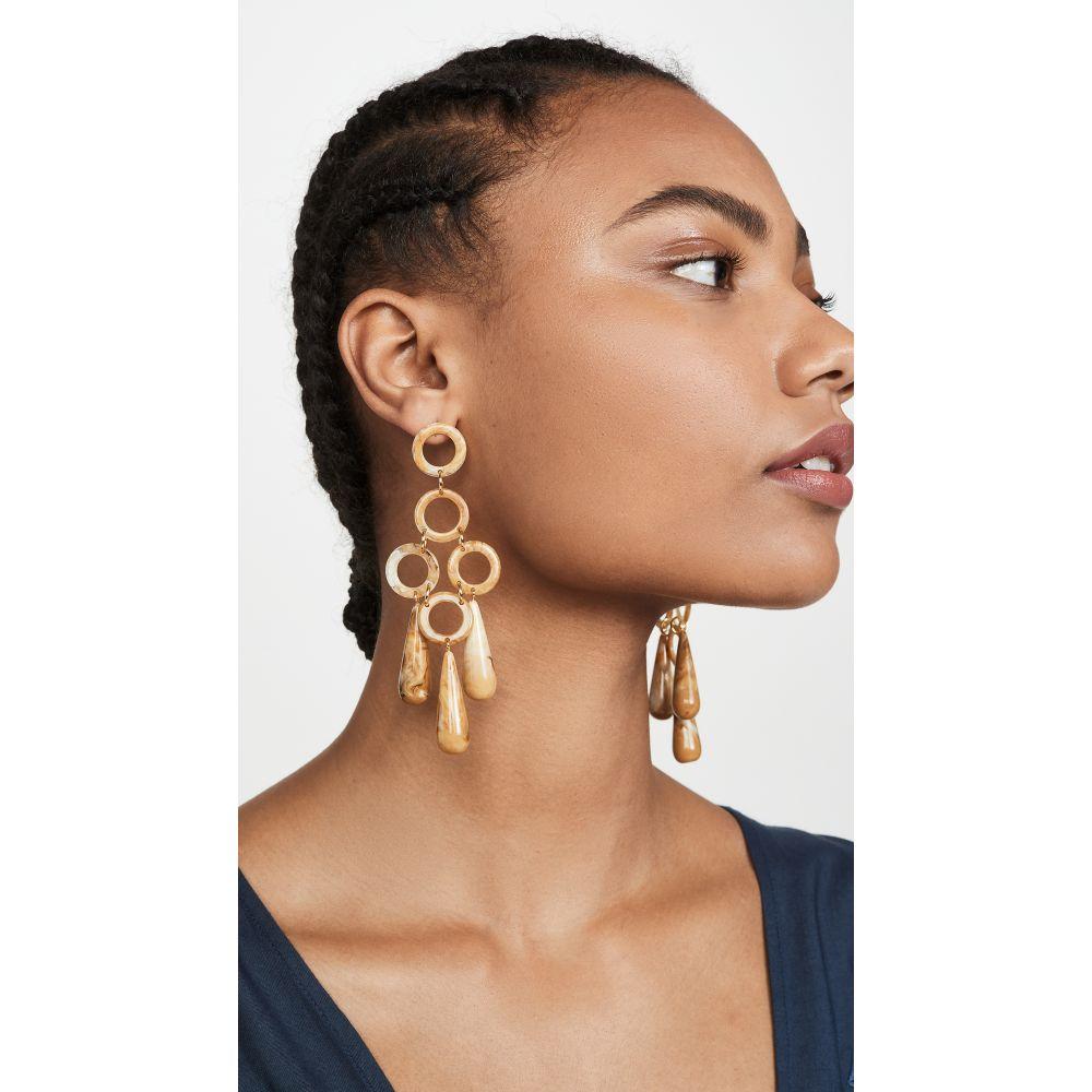 カルト ガイア Cult Gaia レディース イヤリング・ピアス ジュエリー・アクセサリー【Bibi Small Dangle Earrings】Saffron