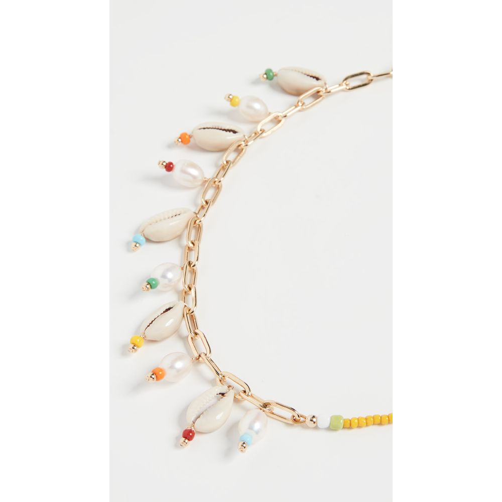 エリュー Eliou レディース ネックレス ジュエリー・アクセサリー【Trento Anklet Necklace】Multi