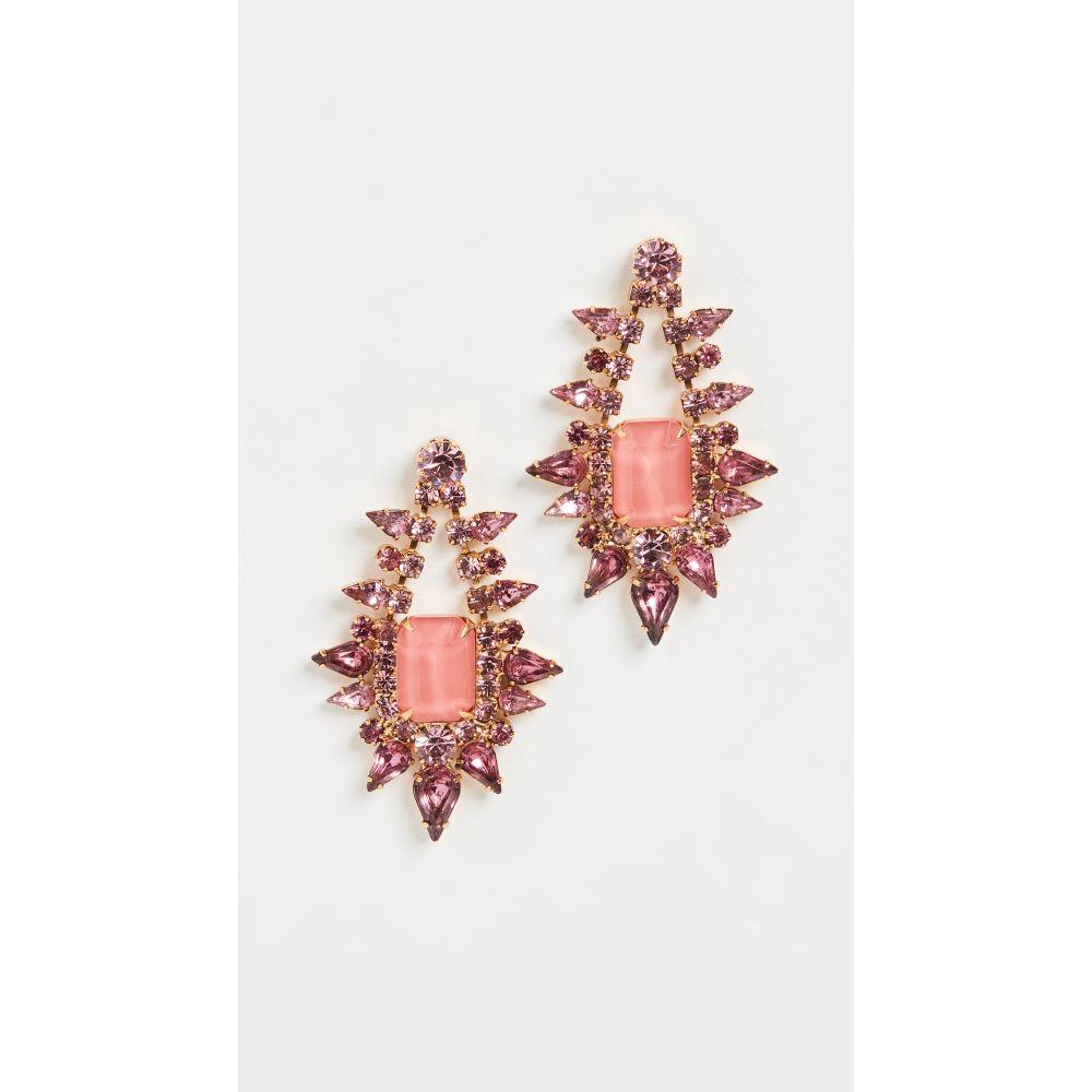 エリザベス コール Elizabeth Cole レディース イヤリング・ピアス ジュエリー・アクセサリー【Tallulah Earrings】Pink