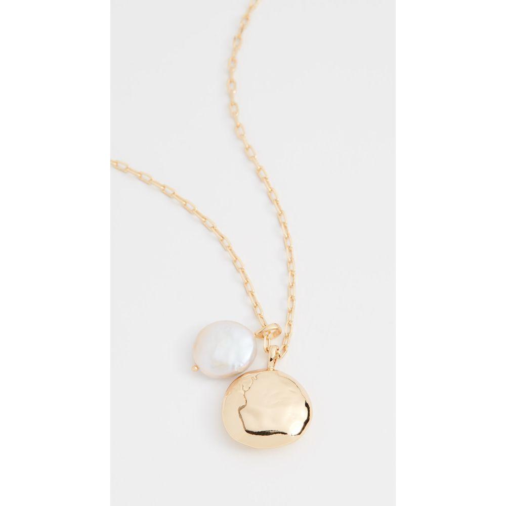 ゴリアナ Gorjana レディース ネックレス ジュエリー・アクセサリー【Reese Pearl Pendant Necklace】Gold