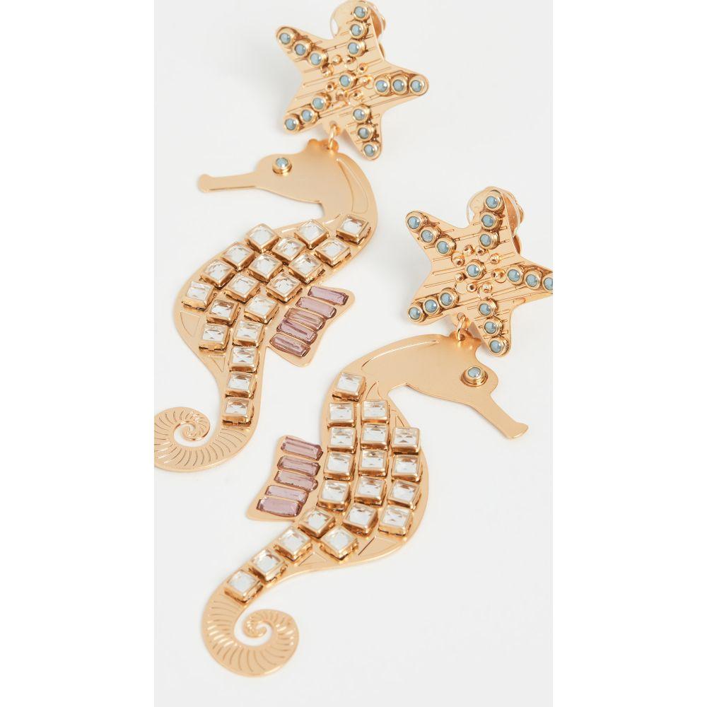 メルセデス サラザール Mercedes Salazar レディース イヤリング・ピアス ジュエリー・アクセサリー【Seahorse Earrings】Gold