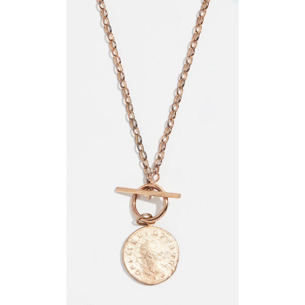 メゾンアイレム Maison Irem レディース ネックレス ジュエリー・アクセサリー【Vintage Coin Necklace】Yellow Gold