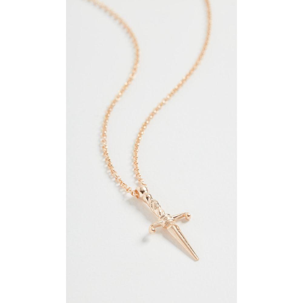 メゾンアイレム Maison Irem レディース ネックレス ジュエリー・アクセサリー【Sword Necklace】Gold