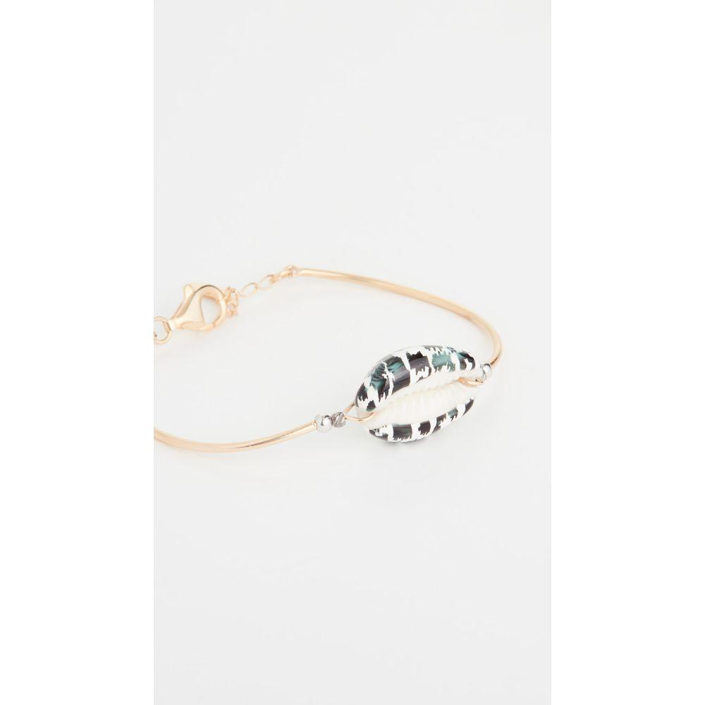 メゾンアイレム Maison Irem レディース ブレスレット ジュエリー・アクセサリー【Pino Bracelet】Leopard Black/White
