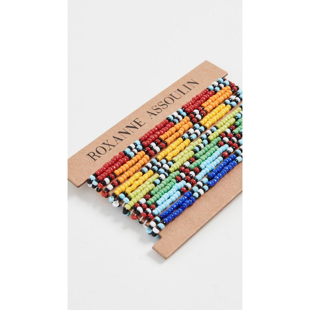 ロクサーヌ アスリーヌ Roxanne Assoulin レディース ブレスレット ジュエリー・アクセサリー【New Patchwork Bracelet】Multi