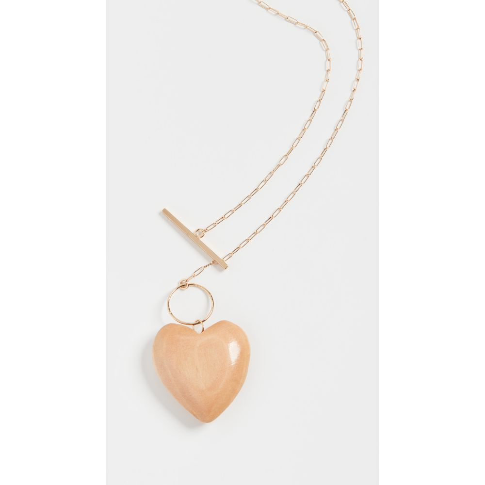 ソフィーモネット Sophie Monet レディース ネックレス ハート ジュエリー・アクセサリー【The Maple Wood Heart Necklace】Wood