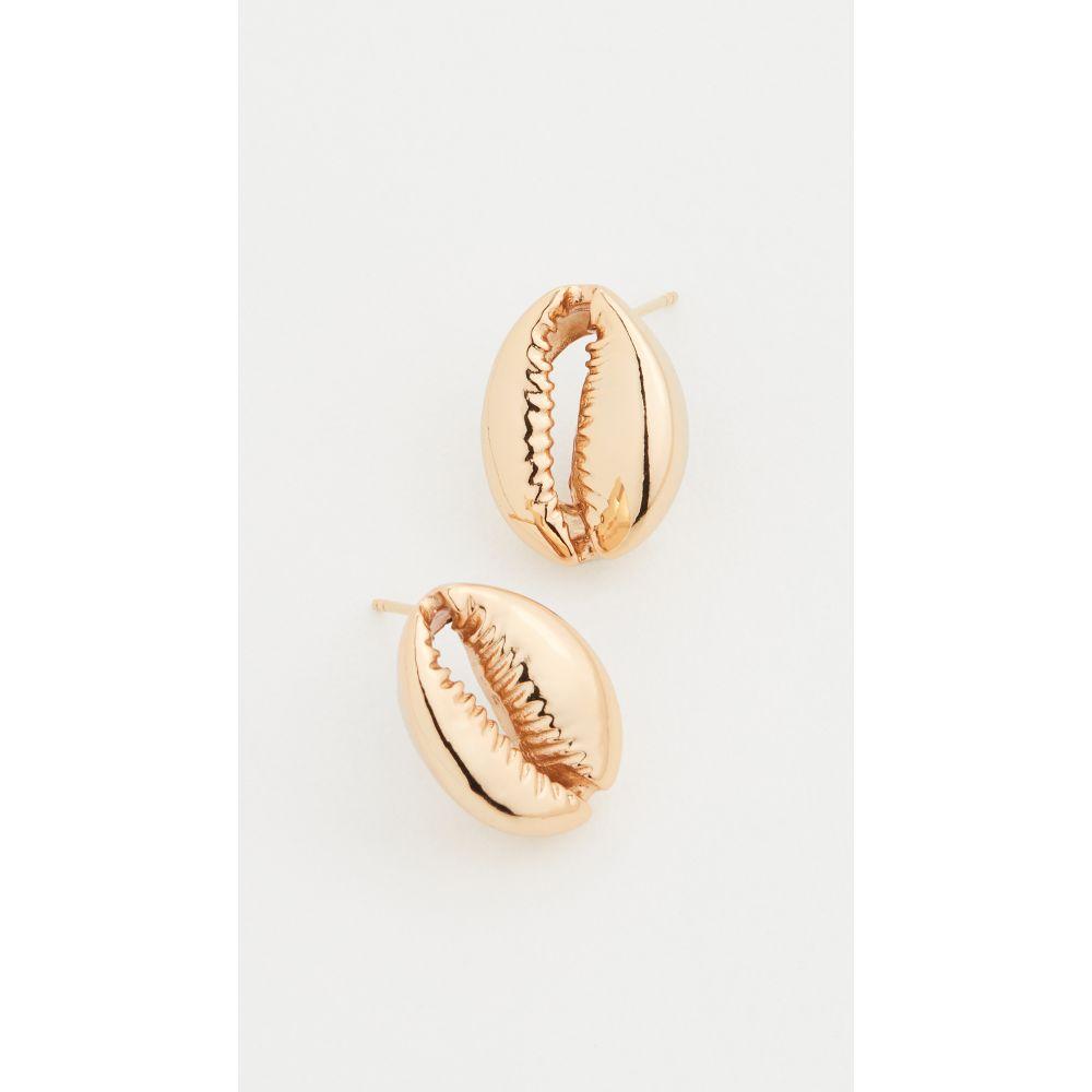 トフム Tohum レディース イヤリング・ピアス ジュエリー・アクセサリー【Large Puka Shell Earrings】Gold