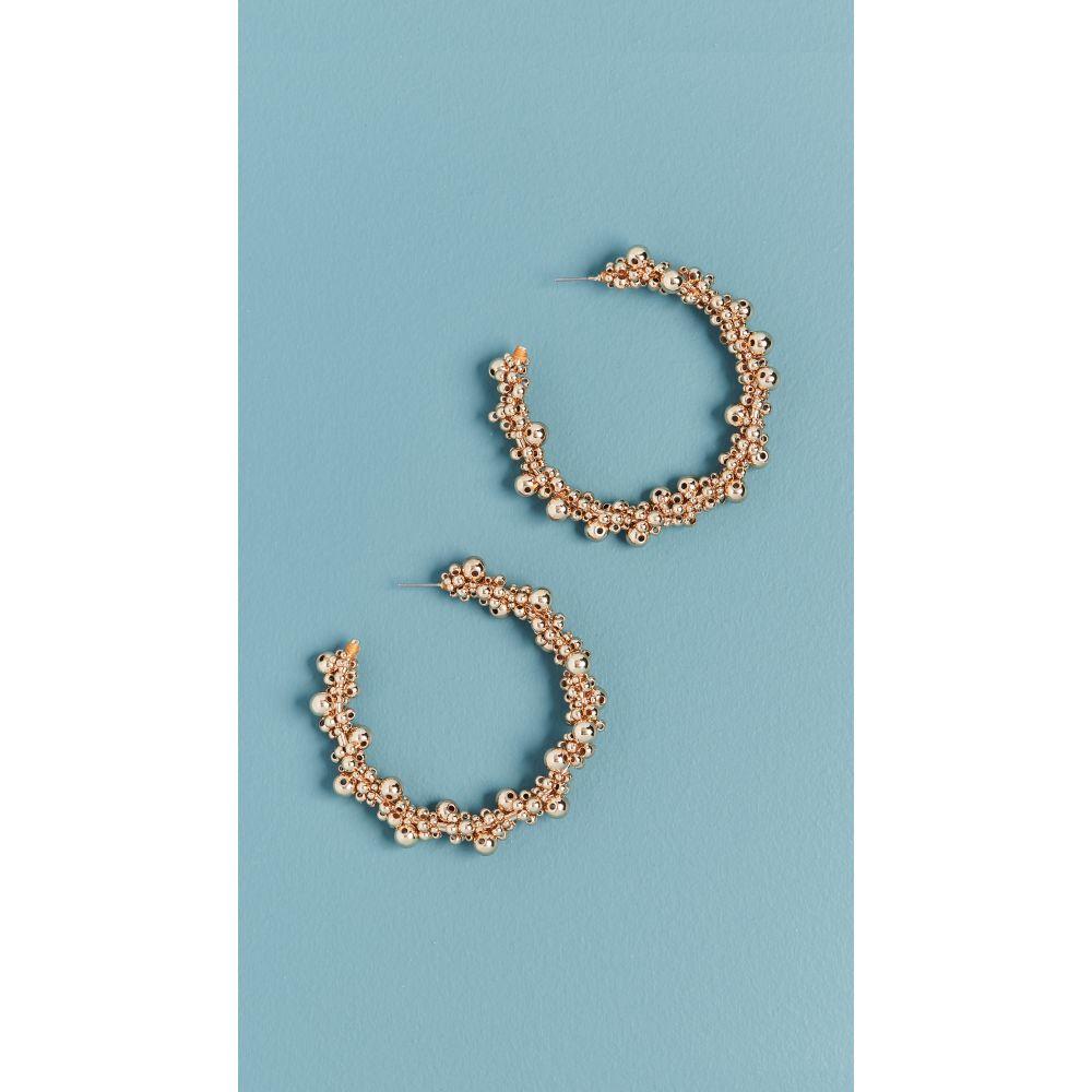 バウブルバー BaubleBar レディース イヤリング・ピアス ジュエリー・アクセサリー【Pitti Hoop Earrings】Gold