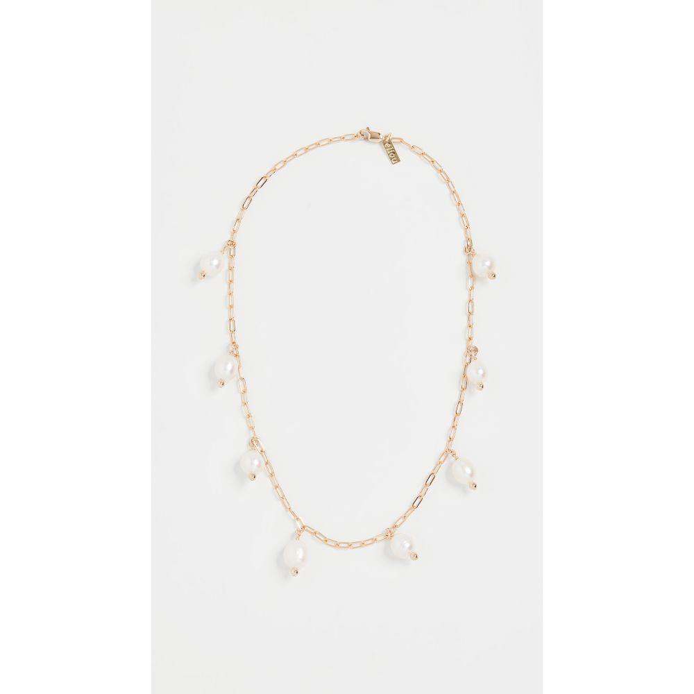 エリュー Eliou レディース ネックレス ジュエリー・アクセサリー【Mafra Necklace】Gold/Pearl