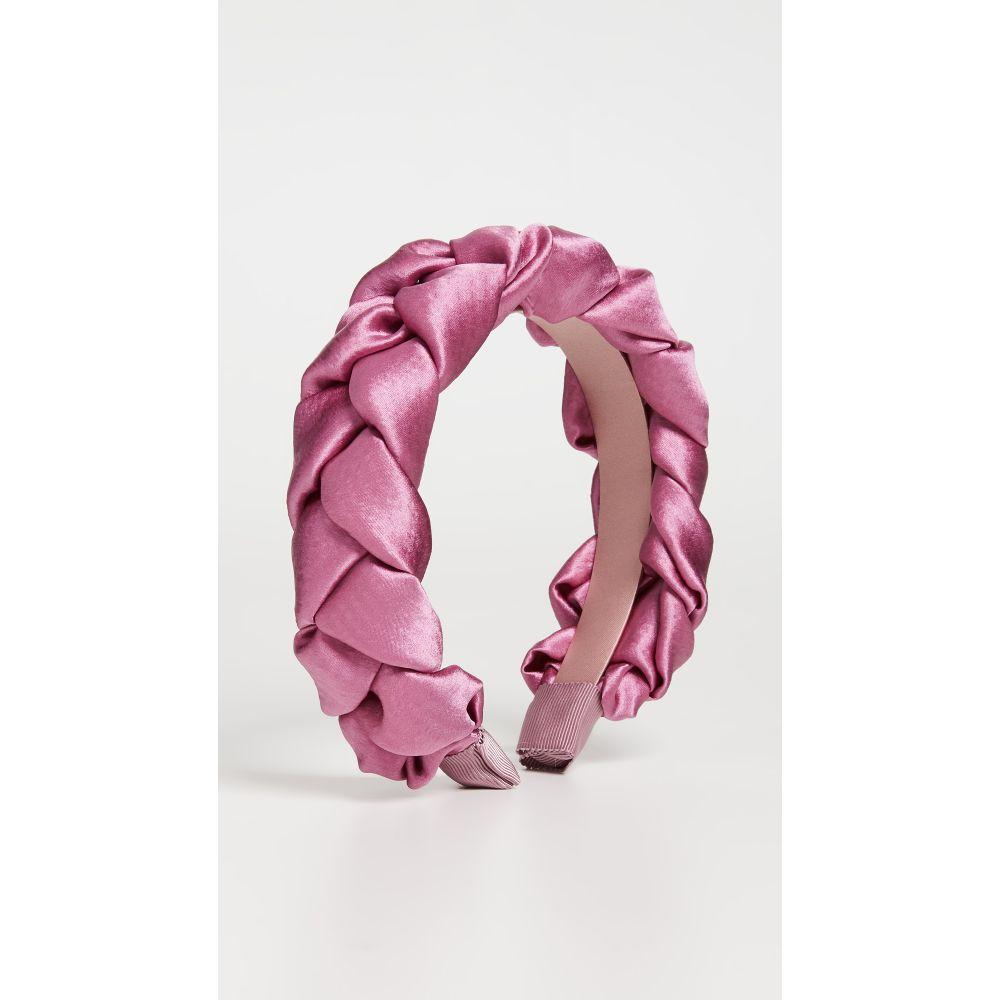 ジェニファーベア Jennifer Behr レディース ヘアアクセサリー ヘッドバンド【Lorelei Headband In Hammered Silk】Rose