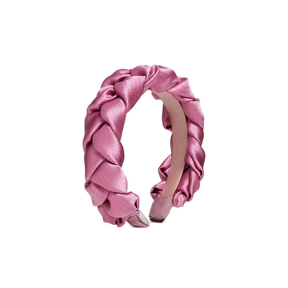 ジェニファーベア Jennifer Behr レディース ヘアアクセサリー ヘッドバンド Lorelei Headband In Hammered Silk Rose6gybfY7