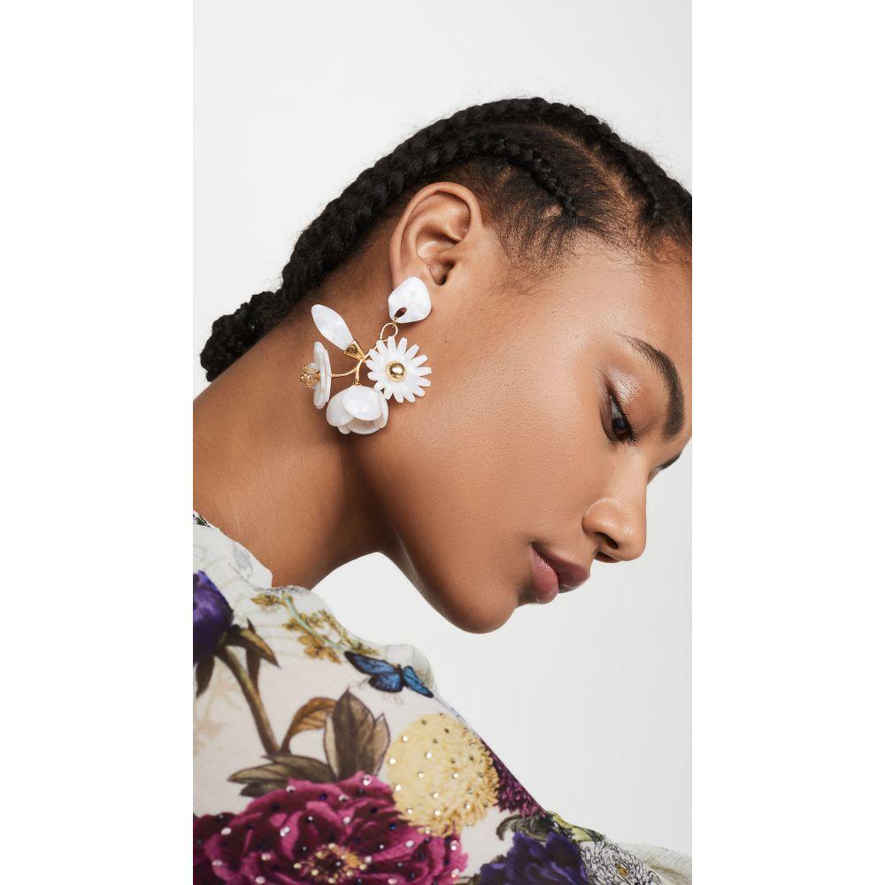 レレ サドイ Lele Sadoughi レディース イヤリング・ピアス ジュエリー・アクセサリー【Petite Rapunzel Earrings】Mother of Pearl