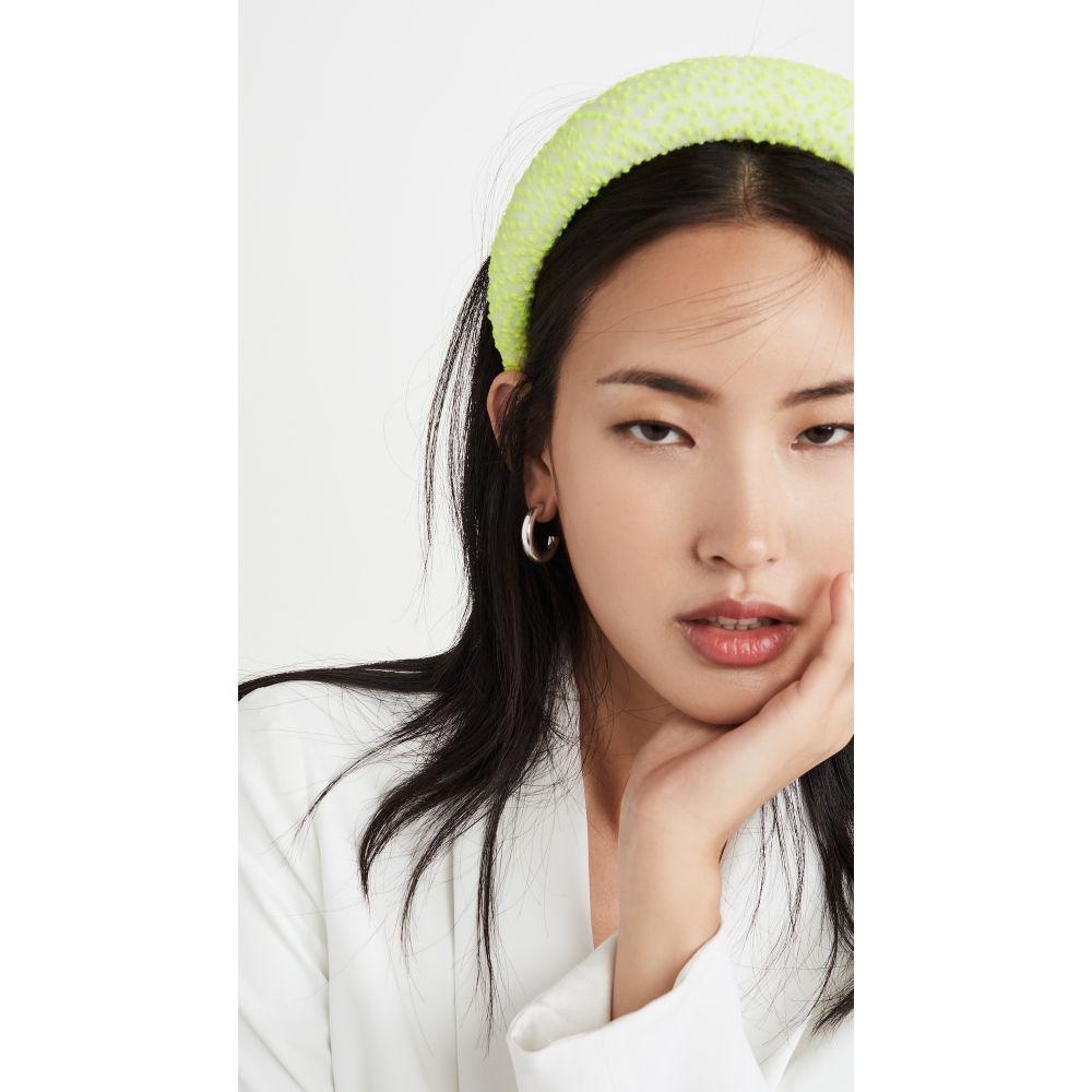 レレット LELET NY レディース ヘアアクセサリー ヘッドバンド【Neon Padded Headband】Neon