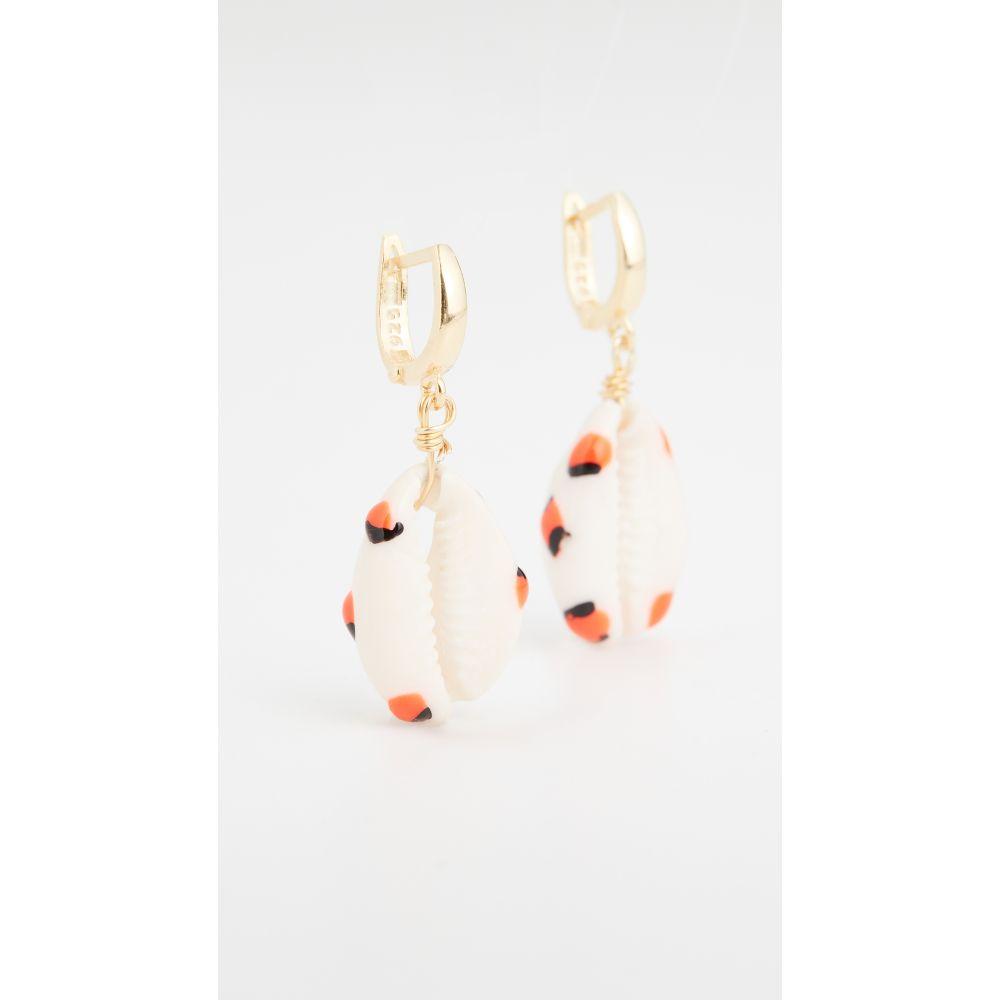 メゾンアイレム Maison Irem レディース イヤリング・ピアス ジュエリー・アクセサリー【Shelly Orange Dot Earrings】Orange Dot