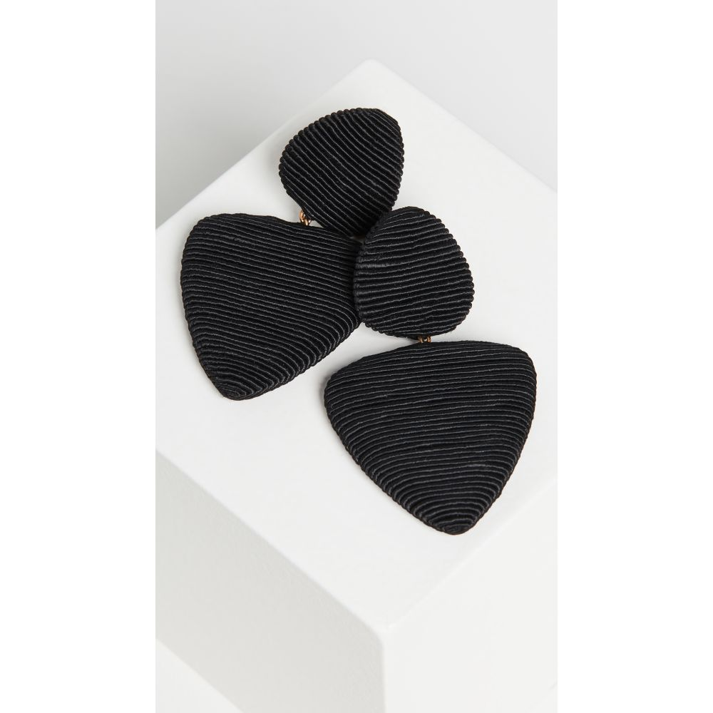 レベッカ デ ラヴェルネル Rebecca De Ravenel レディース イヤリング・ピアス ジュエリー・アクセサリー【Tahiti Earrings】Black