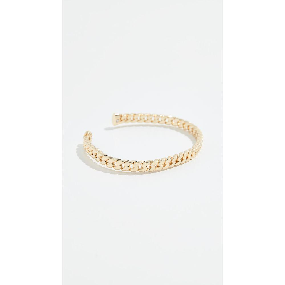 シャシ Shashi レディース ブレスレット ジュエリー・アクセサリー【Chain Cuff Bracelet】Gold