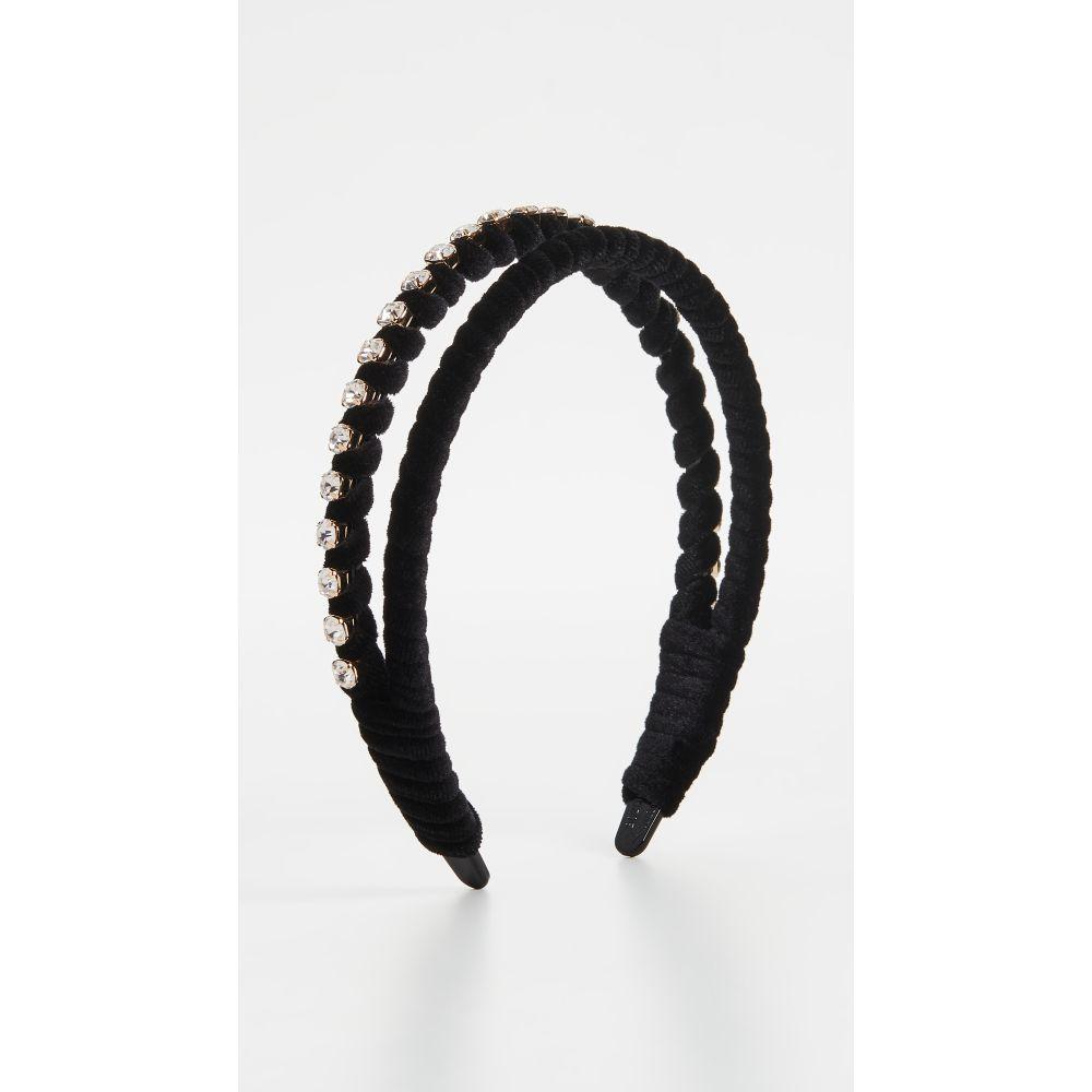 シャシ Shashi レディース ヘアアクセサリー ヘッドバンド【Casino Headband】Black