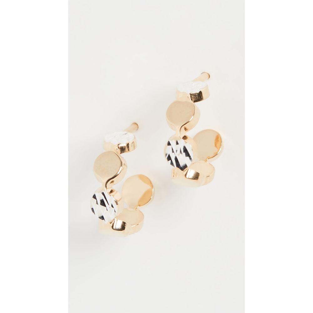 ジェニファーズーナー Jennifer Zeuner Jewelry レディース イヤリング・ピアス ジュエリー・アクセサリー【Bea XS Small Hoops】Two-Tone