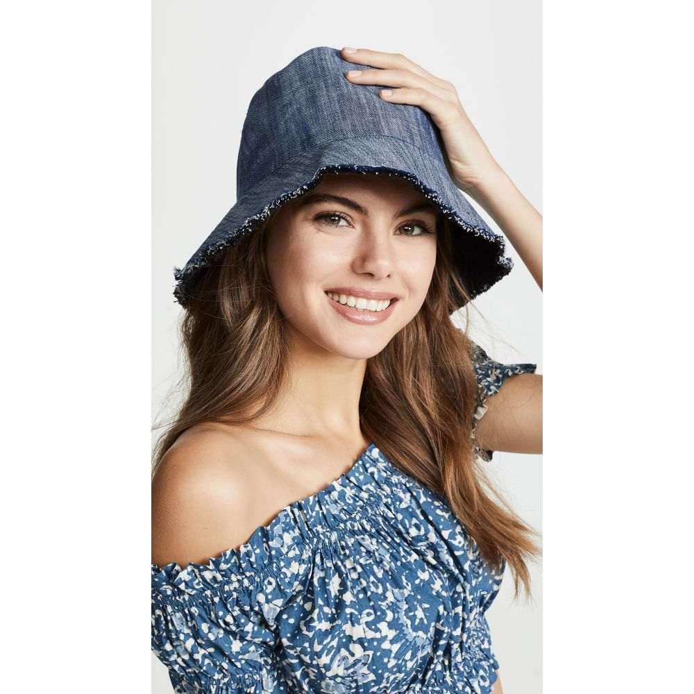 ユージニア キム Eugenia Kim レディース ハット バケットハット 帽子【Genie Sara Bucket Hat】Blue/Black