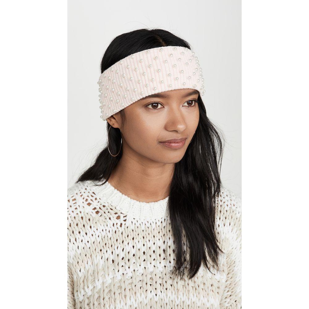 レレ サドイ Lele Sadoughi レディース ファッション小物 イヤーウォーマー【Knit Pearl Ear Warmer】Blush Pink