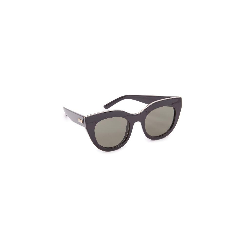 ル スペックス Le Specs レディース メガネ・サングラス 【Air Heart Sunglasses】Black Gold/Khaki Mono