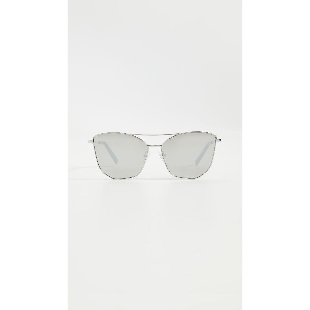 ル スペックス Le Specs レディース メガネ・サングラス 【Primeval Alt Fit Sunglasses】Silver
