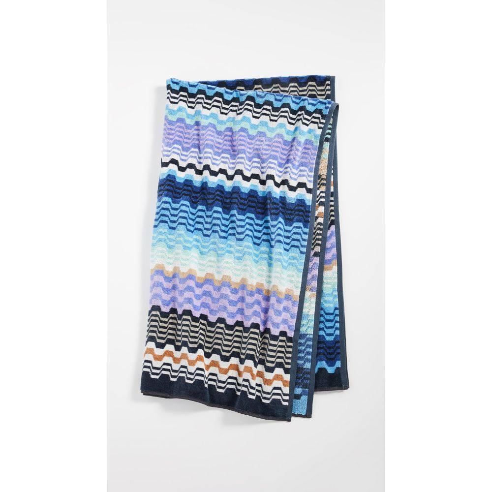 ミッソーニ Missoni Home レディース タオル 【Lara Bath Towel】Multi Blue